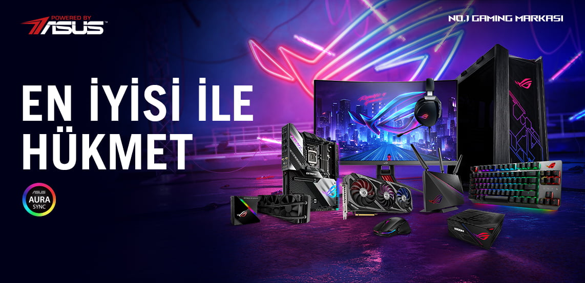 Powered By ASUS Sistemler
