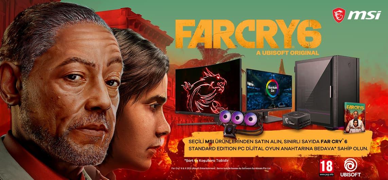 MSI Far Cry 6 kampanyası